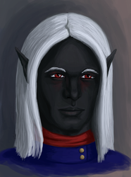 Yessir Captain Admiral Drow by Riverthorne