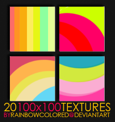 100x100 Textures 1 by rainbowcolored
