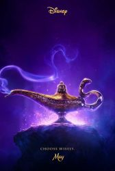 First Official Aladdin (2019) Teaser Poster by Artlover67