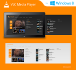 VLC Media Player for Windows 8 by MetroUX