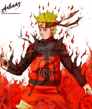 Six Path Sage Naruto by Practice-s