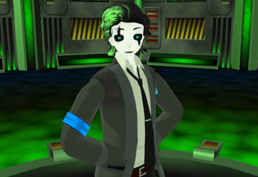 mmd droid become human gaster by 15blue