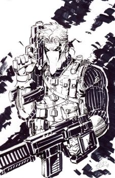 Grifter from Inktober 2018