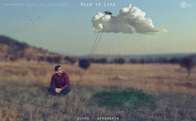 Rain is Life by Mohammed-Hussein