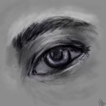 Eye Sketch by Karmen4290