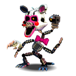 Adv. Nightmare Mangle by shadowNightmare13