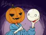 Cryaotic Halloween by CottonCatRie