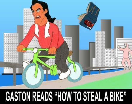 Gaston reads... by yomerome