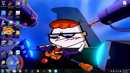 Windows 7 Desktop: Dexter's Laboratory by jcpag2010