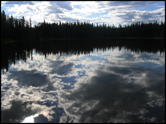 Reflection on the Lake by poetictragedy27