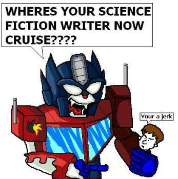 Kittymus Prime Vs Tom Cruise by The-DCE