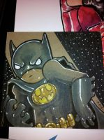 Lil Dude Batman by MARR-PHEOS