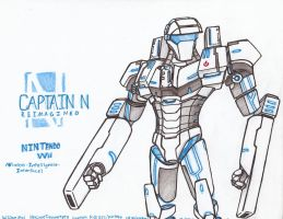 Captain N RE. - Nintendo Wii by WMDiscovery93