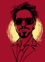 Tony Stark by pai-draws