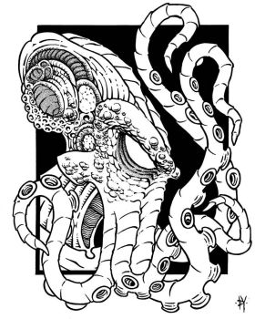 Lord Cthulhu by Tillinghast23