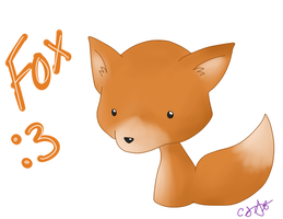 Fox Doodle by ldybg95