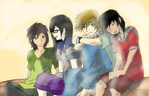 All friends before the war by 13thprotector
