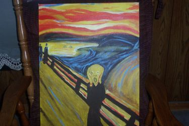The Scream by Himika