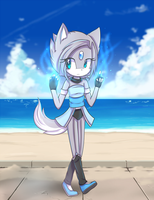 Summer with ice power! by avozinha