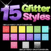 15 Glitter Styles For Photoshop by AbouthRandyOrton