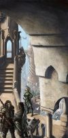 Sharn, the Tower City by BenWootten
