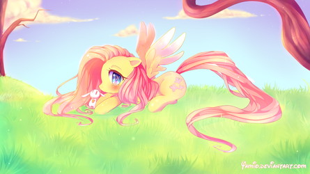 Fluttershy by Yamio