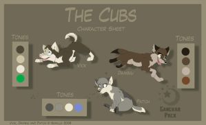 The Cubs - Character Sheet by Skailla
