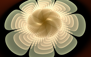 Creating  cosmic flower by iside2012