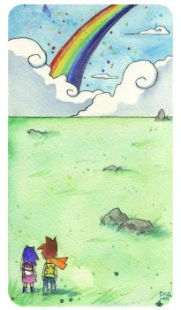 Rocketgirl and Starboy: Follow the Rainbow by rocketgirl85