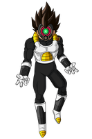 Vegeta Xeno - RENDER - Dragon Ball Heroes by FradayEsmarkers