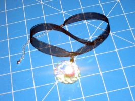 Rainbow Star Explosion Choker by PaperCadence