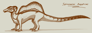 Spinosaurus Aegypticus: Pharaoh of it's Time by CoffeeAddictedDragon