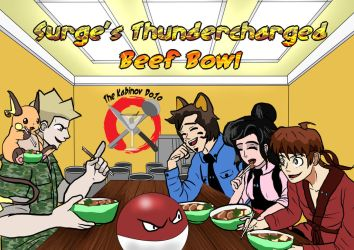 Beef Bowls by Imbriaart