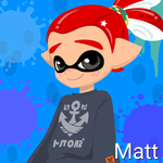Matt (14 Years Old, Inkling Form) by Brightsworth-Heroes