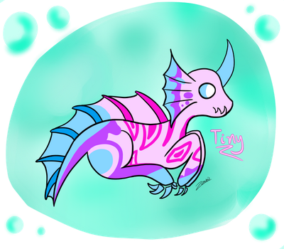 [Glass Dragons] Tiny by Zontickles