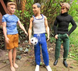 1:6th scale Leisure pants by buttercupminiatures