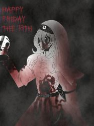 [ Doodle ] Happy Friday the 13th by LiaWorlds