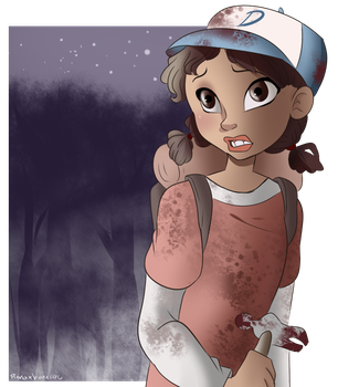 Stay strong Clementine by RenaXbones96