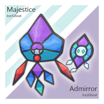 Admirror and Majestice by Tsunfished