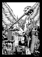 Hawkman by Allan Goldman by TheInkPages