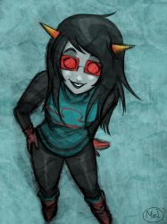 Homestuck - Latula sketch by MelSpontaneus