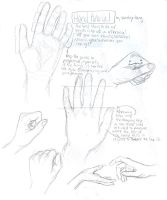 hand tutorial by burdge