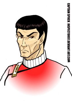 Captain Spock by Inspector97