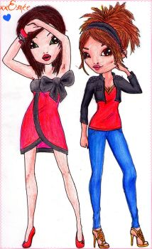 Just some models by xxxEsmee
