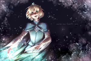 Comission for Onataria - Frozen AU by Mioko-san