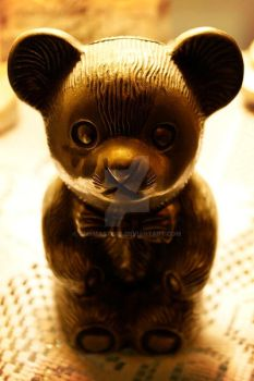 Teddy Bear Piggy Bank by smsmasters