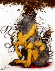 .:Cacao Blood:. by WhiteSpiritWolf