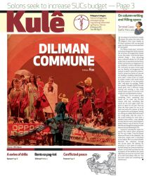 Philippine Collegian Issue 15 by kule1112