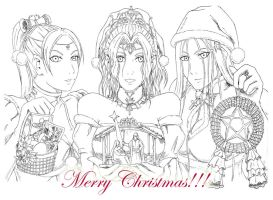 A Merry, Claymore Fan Fiction Christmas!!! by bmesias063