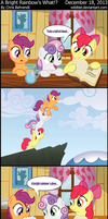 A Bright Rainbow's What!? by wildtiel